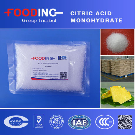 Citric acid Monohydrate suppliers