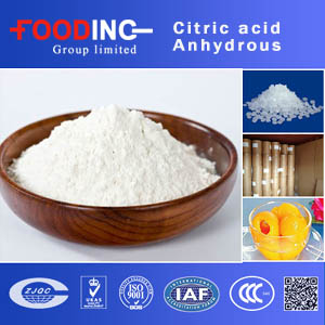 Citric acid Anhydrous suppliers